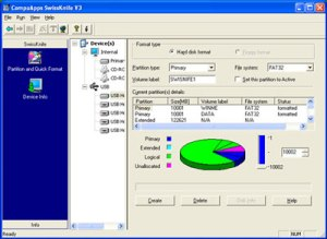 H2 Partition-Master-Free